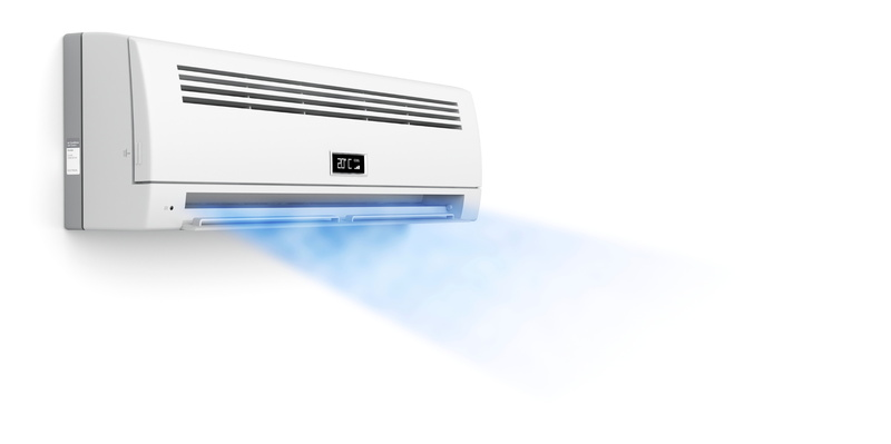 air-conditioner-blowing-air