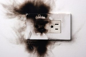 burnt-wall-outlet