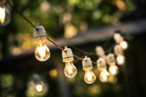 string-of-outdoor-lights-turned-on